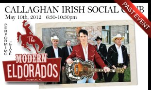The Modern Eldorados Live At Callaghan's