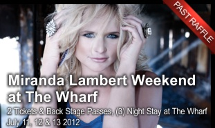 Miranda Lambert Weekend at The Wharf